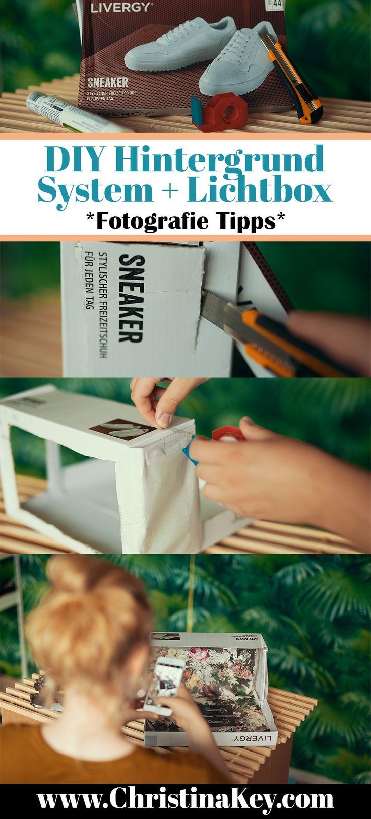 DIY Mini Hintergrund System Lichtbox