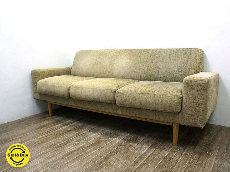 Momonatural モモナチュラル Patoru パトル シリーズ スタンダード カバーリング ソファ 3シーター ベージュ系 家具のアイデア ソファ 3シーター デザイナーズ家具