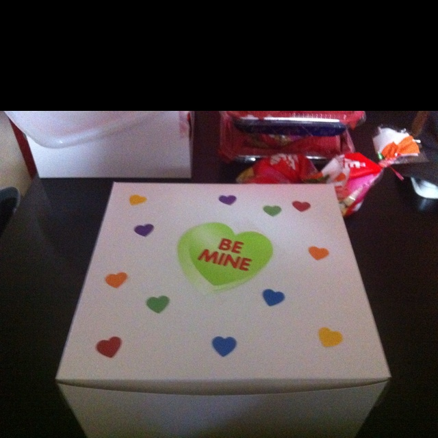 Valentines box for baked goods !