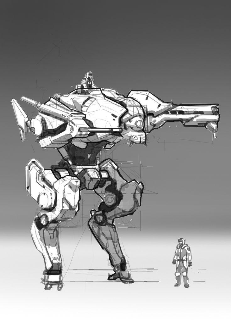 ArtStation - mache sketch, xiang zhang