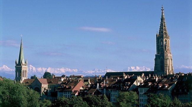 Bern - Switzerland's capital city.