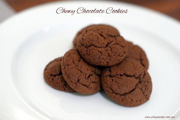 Chewy Chocolate Cookies | Easy Recipe for Kids | Play and Go
