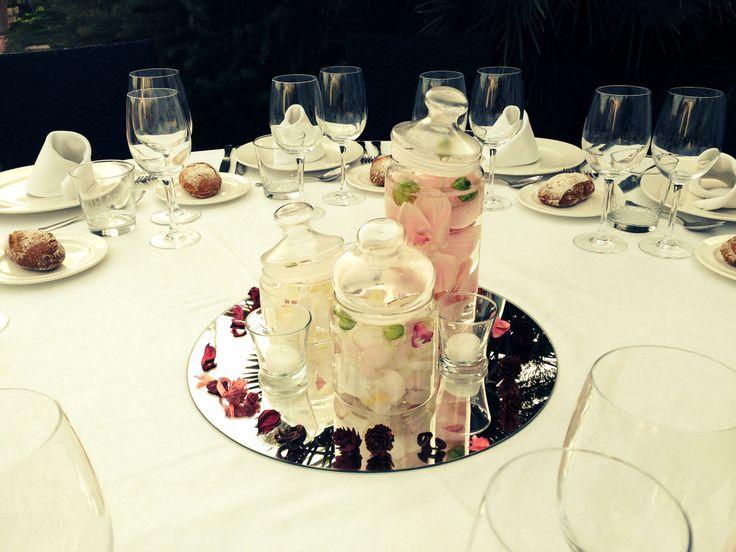 Y aquí está la #decoracion #romantica! ¿Os gusta?