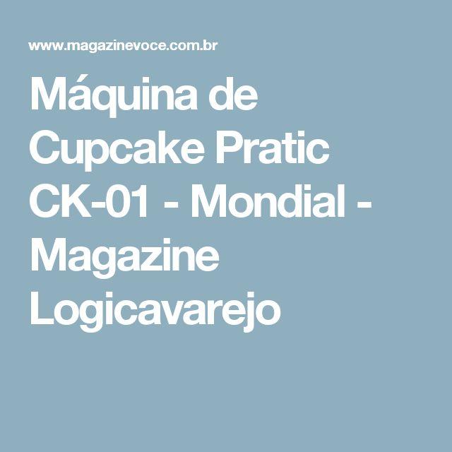 Máquina de Cupcake Pratic CK-01 - Mondial - Magazine Logicavarejo