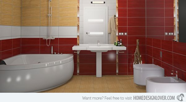 Top Ten Tips to Keep Your Bathroom Safe   Home Design Lover - Check out these great tips for safer bathroom design; Re-Bath of Houston will ensure that your bathroom is safe as well.