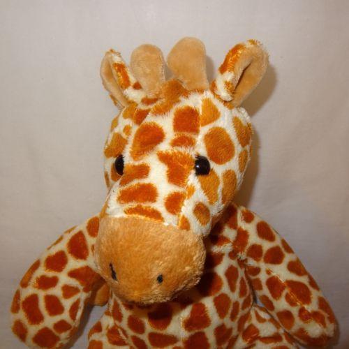 Giraffe-Plush-Stuffed-Animal-Large-10-034-JC-Penny-Brown-Spots