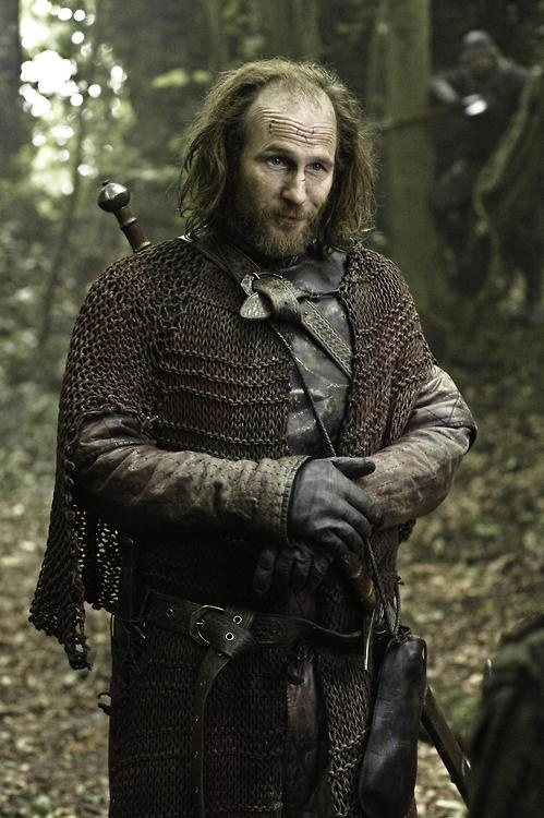 Season 3 promotional image. Paul Kaye as Thoros of Myr.