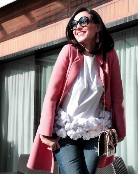 Caterina Balivo look da favola per la sua seconda gravidanza