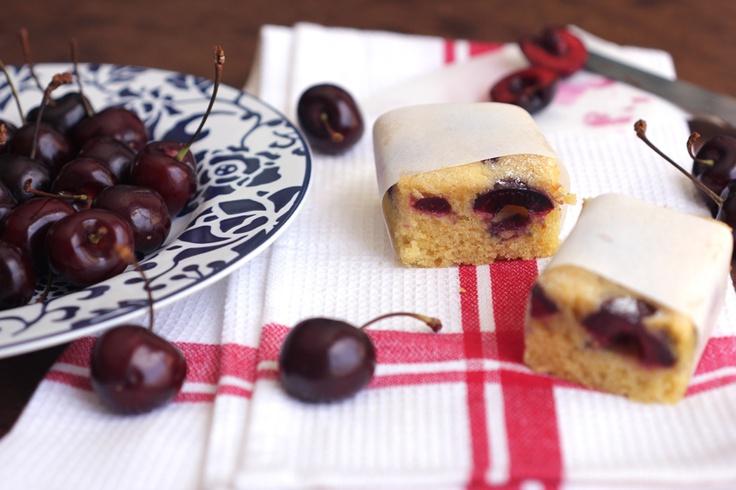 clementines + cherry cake