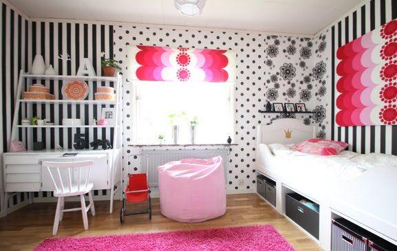 Läs vad Therese tänkte när hon gjorde om sina barns rum.      Här har vi Alvas Rum.            En prinsessas dröm,ett eget sminkbord..     B...