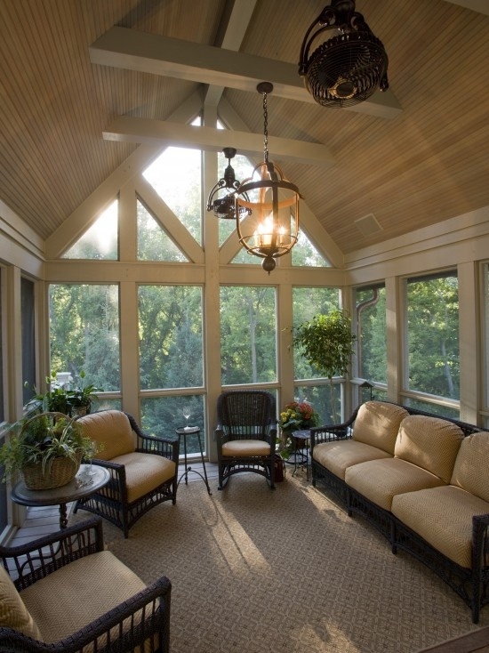 Pretty!!  Maybe a bit much for a D.I.Y. job, but LOVE the ceiling and windows!!
