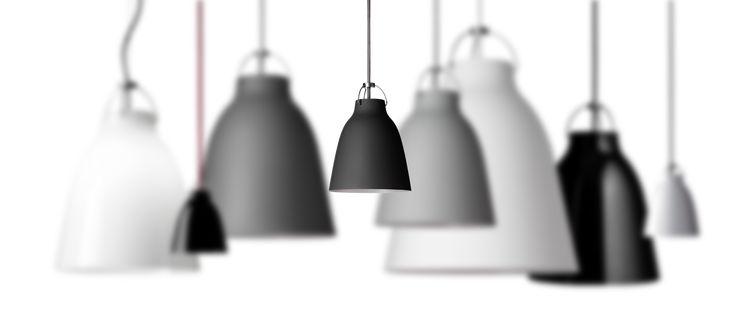 P2-svart matt lampa diam 26