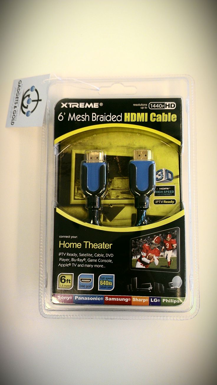 XTREME 6' MeshBraided HDMI Cable SOLD! Was available at Gadgets & Gold in Gainesville, FL!