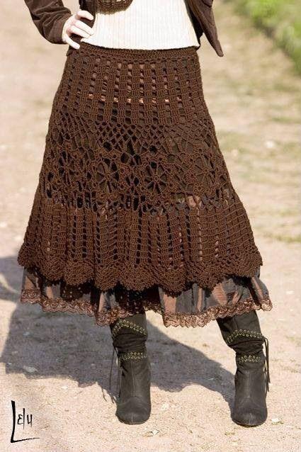 Boho skirt.