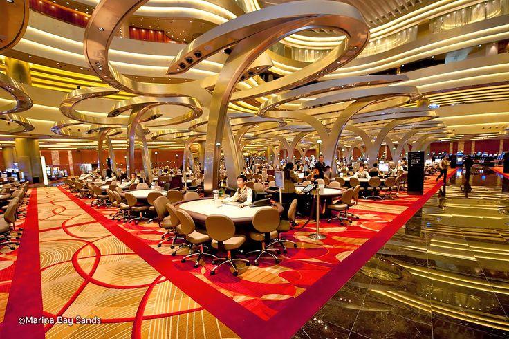 Marina Bay Sands Hotel & Casino, Singapore | Casinos Interior Design. Best Casino. Contract Furniture. Hospitality Furniture. #bestcasino #interiordesign #contractfurniture Find more inspiration at: www.brabbu.com/