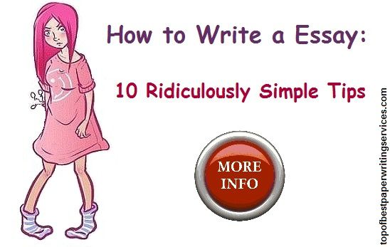 How to Write a Essay 10 Ridiculously Simple Tips