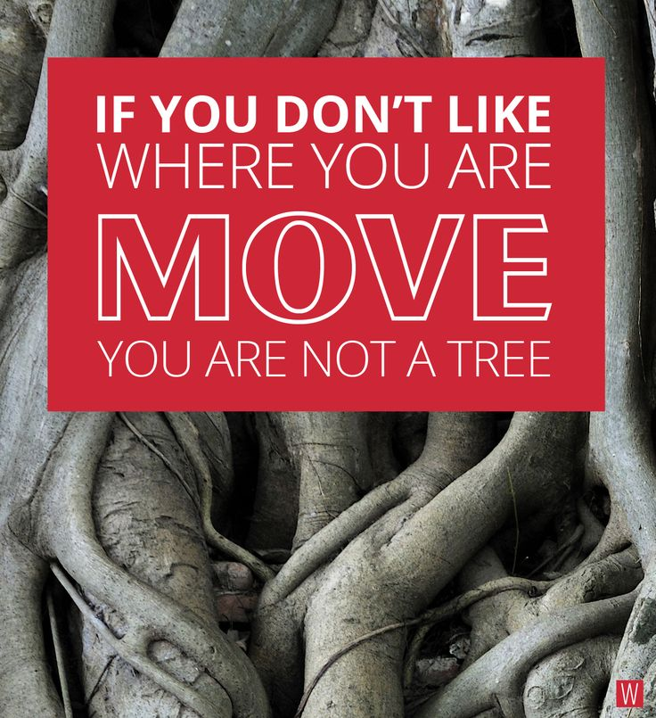 If you don't like where you are... #insipation #quote