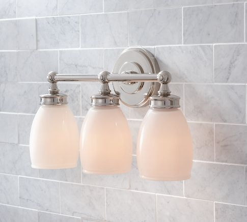 Bathroom Light Fixtures Pottery Barn 66 best bathroom lighting images on pinterest | bathroom lighting