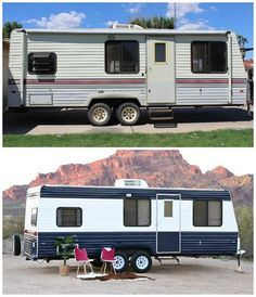 Camper Makeover: How To Repaint A Camper Or RV