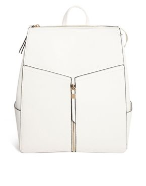 Moi really like this... New Look Xhatch Structured Backpack $78 -- what? crazy high-end look for low $