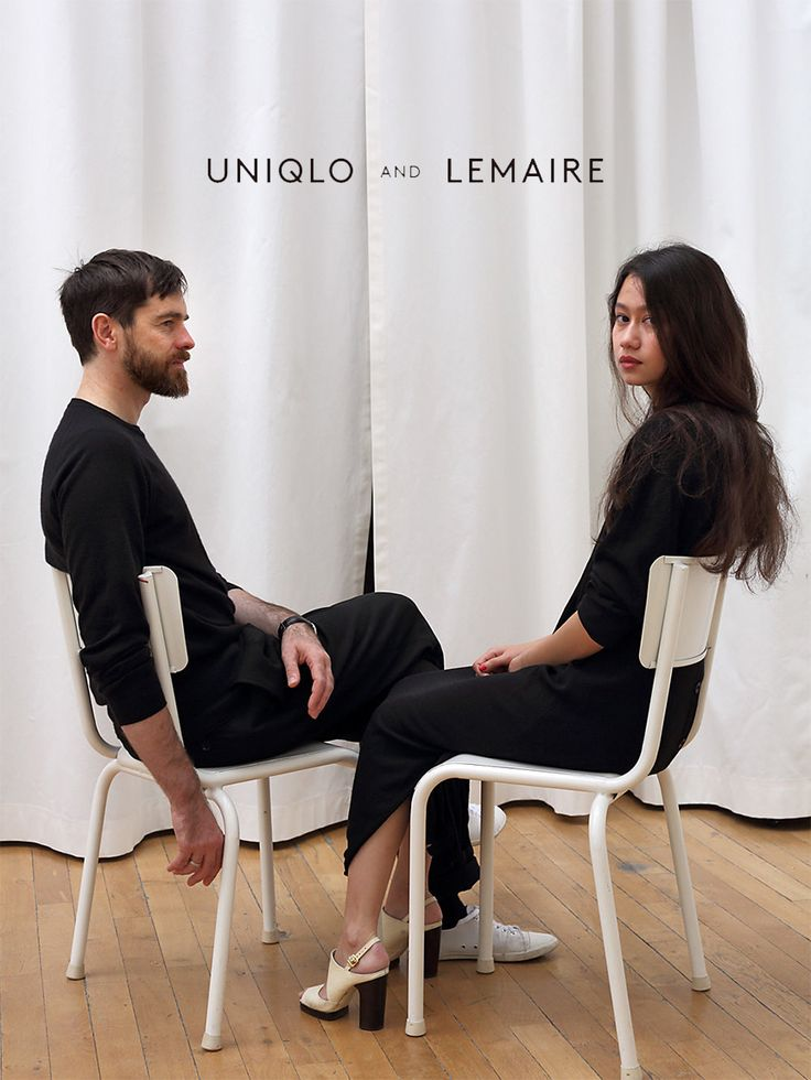 Christophe Lemaire and his muse/partner Sarah Linh-Tran