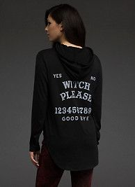 Witch Please Hooded Tee SKU: 10310443 save up to 25% Off on entire purchase at BlackHeart Lingerie using Coupon & Promo Codes.