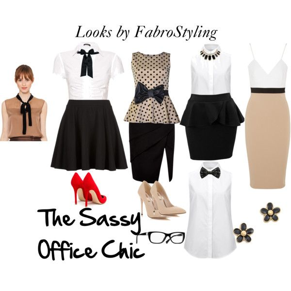 """""""Sassy Office"""" by thestylehousesa on Polyvore"""