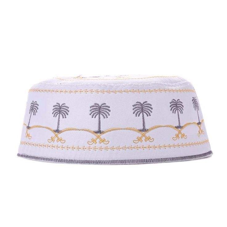 Muslim Men's Hat Floral Embroidery Printing Hat Boy Men Soft Hats Caps Beanie Islamic Prayer Casual Male Beanies Head Wears Chic //Price: $2.68 & FREE Shipping //     #islamicwear