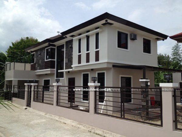 17 best images about exterior color ideas on pinterest for Modern houses in philippines
