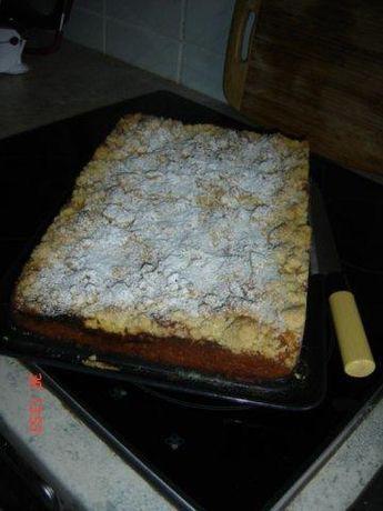 Pudding crumble cake to grandma   – Kuchen