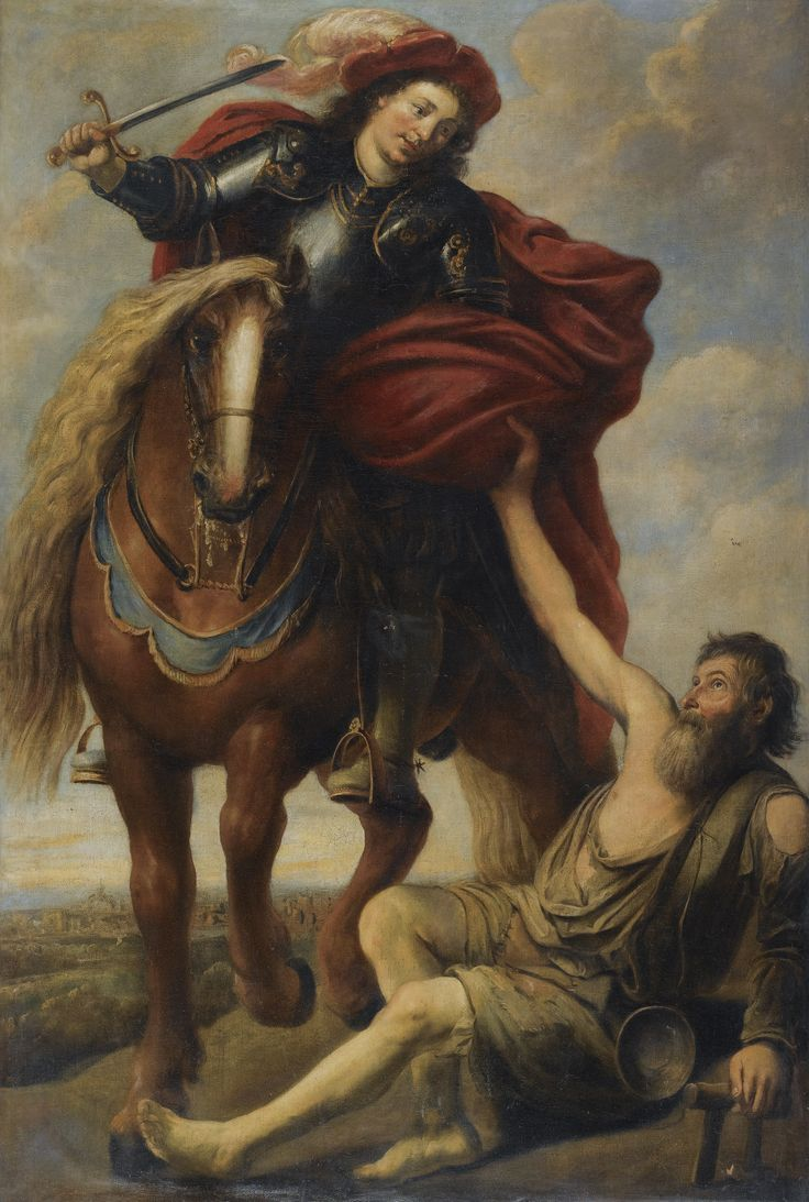 """Blessed and happy memorial of St Martin of Tours """"The Spiritual Bridge of Europe"""" – Nobember 11 #pinterest #tmartinoftours A conscientious objector who wanted to be a monk; a monk who was maneuvered into being a bishop; a bishop who fought paganism as well as pleaded for mercy to heretics—such was Martin of Tours, one of the most popular of saints and one of the first not to be martyred. After great difficulties, he was discharged......"""