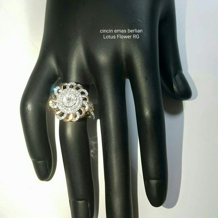 New Arrival🗼. Cincin Emas Berlian Lotus Flower RG Style💍.   🏪Toko Perhiasan Emas Berlian-Ammad 📲+6282113309088/5C50359F Cp.Antrika👩.  https://m.facebook.com/home.php #investasi#diomond#gold#beauty#fashion#elegant#musthave#tokoperhiasanemasberlian