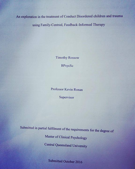 First timothy thesis