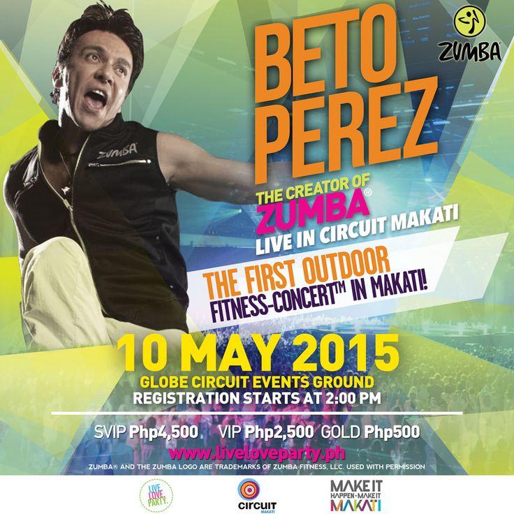 Beto Perez Live In Circuit Makati   Health Junkie