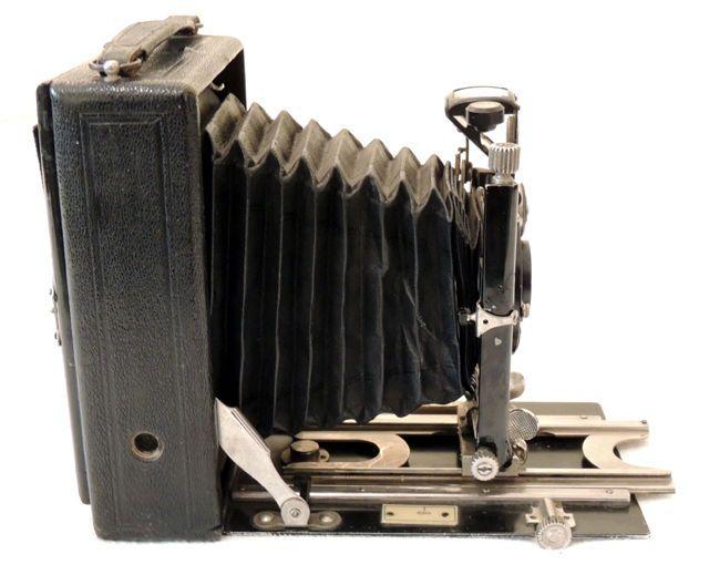 Alte Balgenkamera / Plattenkamera IBSO CBT (ca.1920 ?)