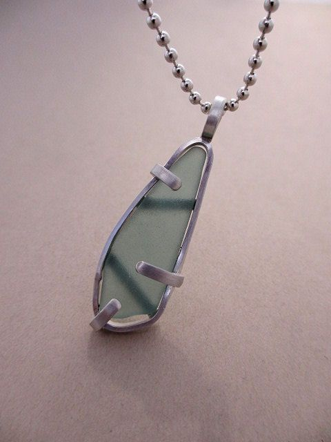 Seaglass Pendant by AdobeSol, via Flickr