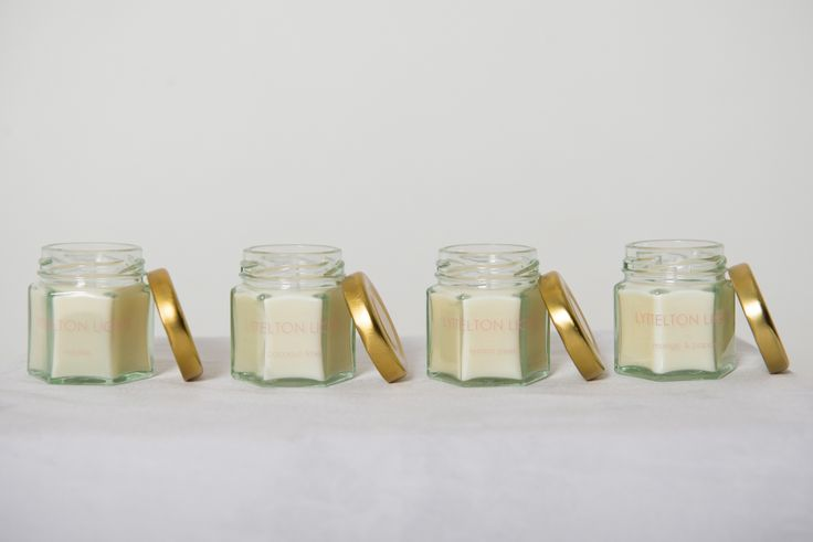 LYTTELTON LIGHTS wedding favors are the perfect little gift for your guests.  100% natural soy Available in four scents    www.lytteltonlights.com