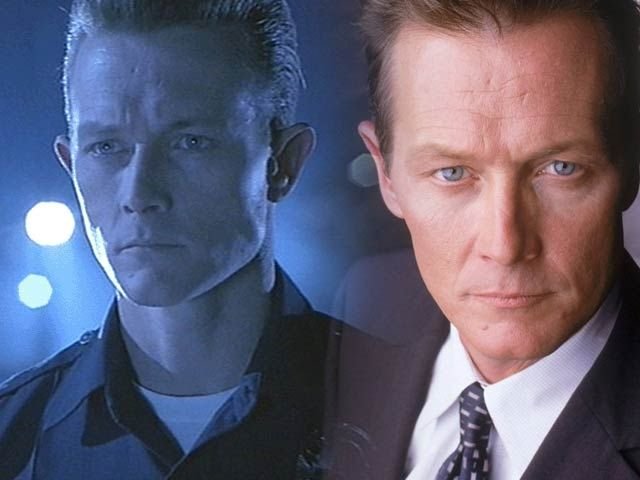 Robert Patrick - Agent John Doggett and the T-1000. Awesome :)