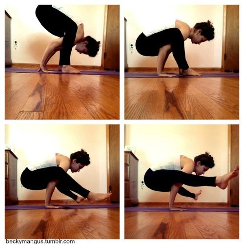 steps to firefly pose.  #yoga