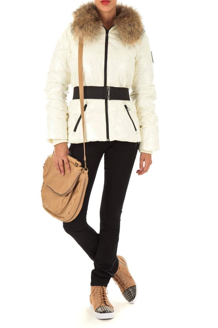 Doudoune blanche femme - Redskins - 118.30€