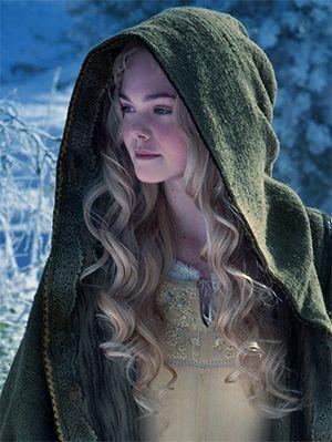 Elle Fanning as Aurora in Sleeping Beauty