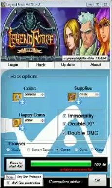 Legend Force Hack Tool The application is 100% authentic and works without any problems. This Legend Force Hack hack is the top secret cheat to give you any number of resources and funds. #freehacksgames #legendforcehack #games