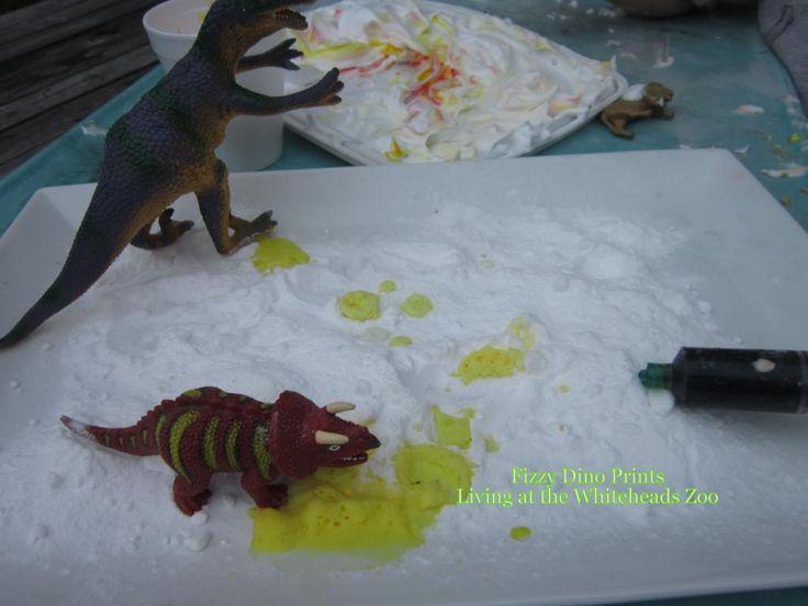 "Dinosaur footprints that fizz ("",)"