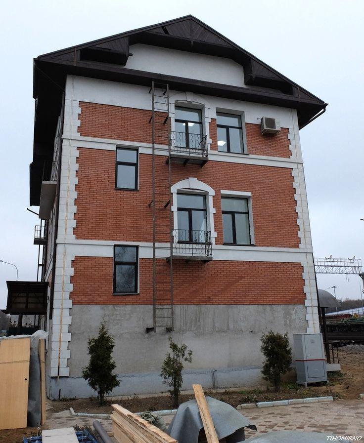 Лефортово, Здание 1908 года постройки. Из числа пристанционных построек.
