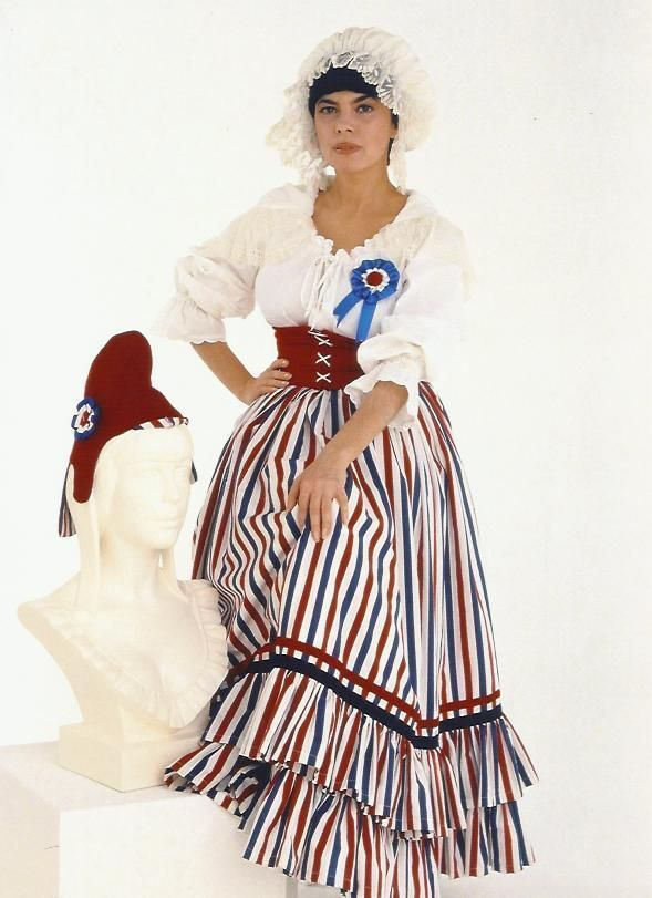 """mireille mathieu photo 18X24 cm / 8x10"""" révolutionnaire bonnet phrygien 80's"""
