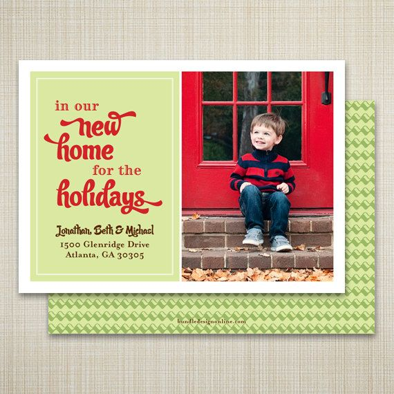 14 best New Home Holiday Photo Card images on Pinterest ...