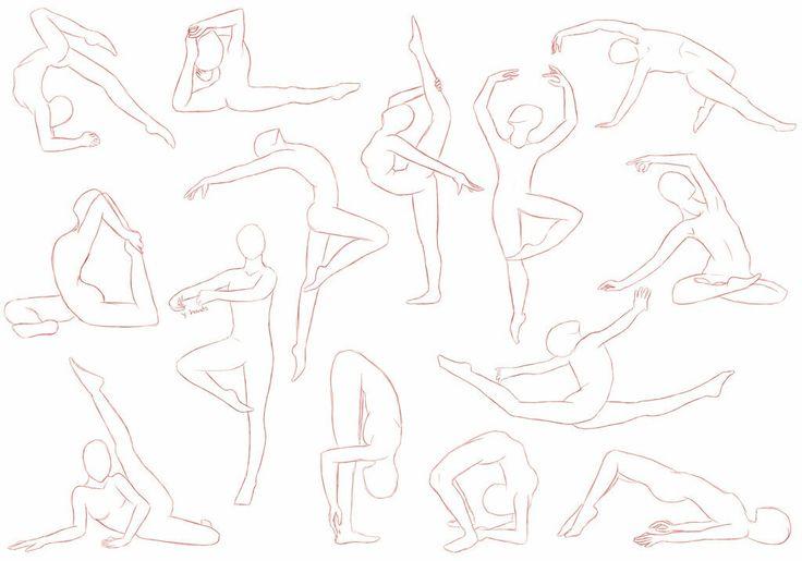 Dancing/Gymnastics Poses