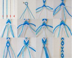 """""""How To Make Friendship Bracelets   How To Make Friendship Bracelets With Names Step By Step"""" TOTs going to make this"""