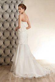 Vonda Beige esküvői ruha