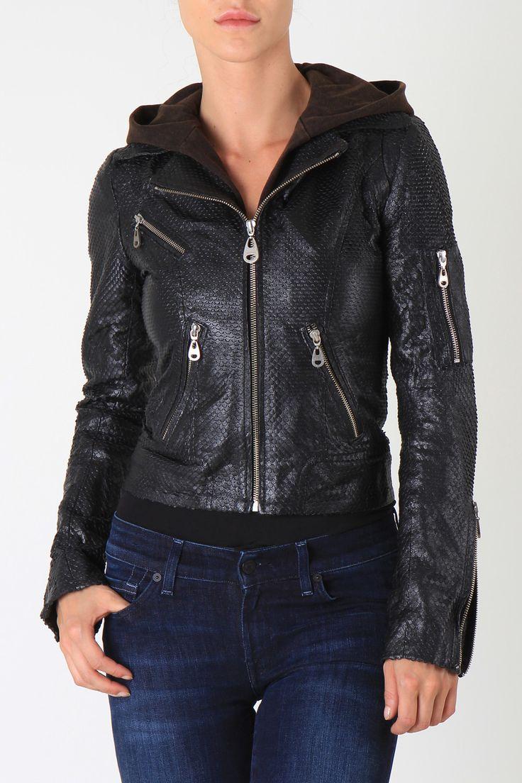 Doma Leather jacket 5437 BLACK - Lederen jassen | Dameskleding | JeansOnline